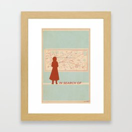 TBS Search Party: In Search Of Framed Art Print