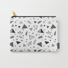 Organic Triangles Carry-All Pouch