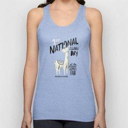 National Llama Day Unisex Tank Top