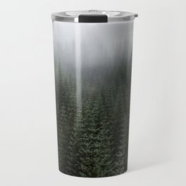 Dizzying Misty Forest Travel Mug