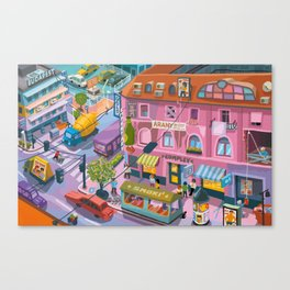 My little Budapest Canvas Print