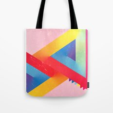 Happy Triangles Tote Bag
