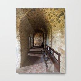 Abbey Farneta Crypt Metal Print
