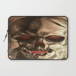 Red Eyed Skul Laptop Sleeve