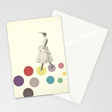 Bird Lady Stationery Cards