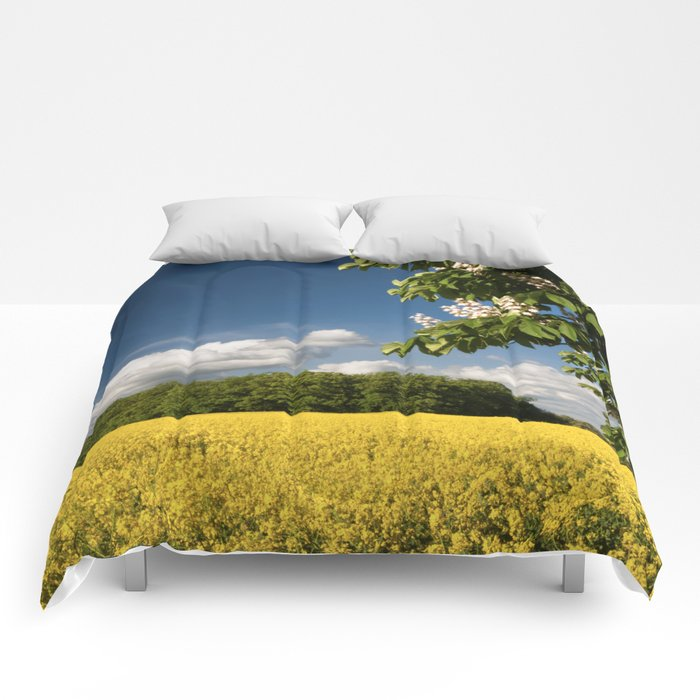 Springfield and blooming chestnut Comforters