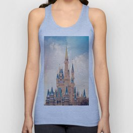 Cinderella's Castle Unisex Tank Top