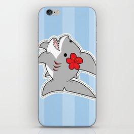 Sharky Dress Up iPhone Skin