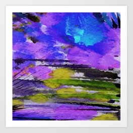 Art Abstraction 1F by Kathy Morton Stanion Art Print