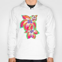 hibiscus Hoodies featuring Hibiscus by Teri Newberry