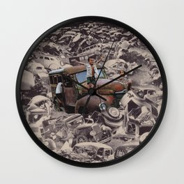 Victory of the Oppressed Wall Clock