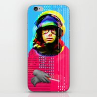 beastie boys iPhone & iPod Skins featuring Gioconda Music Project · Beastie Boys · Adam Yauch by Marko Köppe