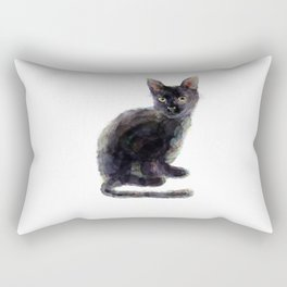 Colorful colorless noche Rectangular Pillow
