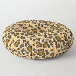Leopard Pugs Floor Pillow