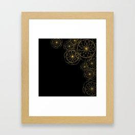 almost floral Framed Art Print