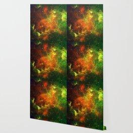 North American and Pelican Nebulae Wallpaper