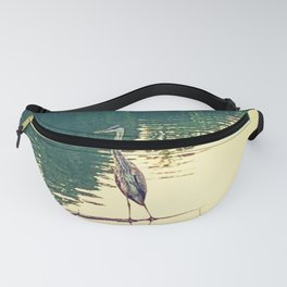 Great Blue Heron Fanny Pack