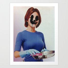 "I call her ""Peg"" Art Print"