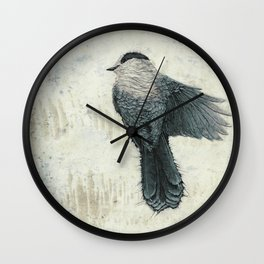 Canada Gray 2 Wall Clock