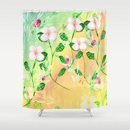 Garden Frenzy Day Shower Curtain