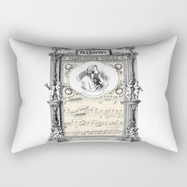 Frederick Chopin Polonaise art Rectangular Pillow