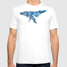 A whale of a time. White Mens Fitted Tee SMALL