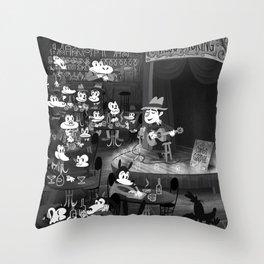 Gardel's Old Tango Throw Pillow