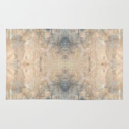 Glitch Vintage Rug Abstract Rug