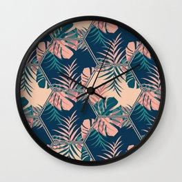 Miami Tiles #society6 #decor #buyart Wall Clock