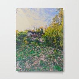 Cliff hanger Metal Print