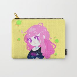 Space Cutie (pink) Carry-All Pouch
