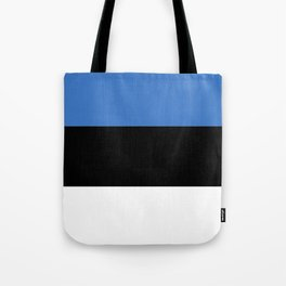 Flag of Estonia - Estonian,Eest,Baltic,Finnic,Sami, Skype,Arvo Part,Tallinn,Tartu, Narva,Snow, Cold Tote Bag