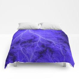 Lightning Nebula Comforters