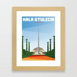 Hala Stulecia | Centennial Hall | Wrocław Framed Art Print