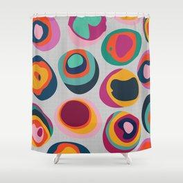 Rainbow Resin Shower Curtain