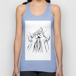 Sex hands Unisex Tank Top