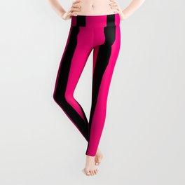 Pink Stripes Leggings