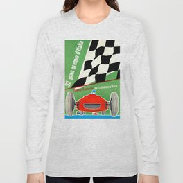 1961 Italian Grand Prix Advertising Poster Long Sleeve T-shirt