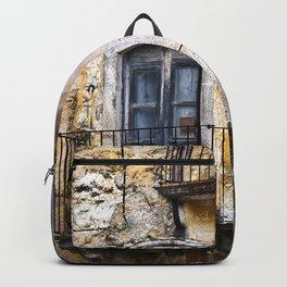 Urban Sicilian Facade Backpack