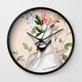 Floral beauty 6 Wall Clock