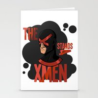 xmen Stationery Cards featuring The X stands 4 XMEN by JakbTIME