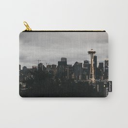 Seattle Skyline Carry-All Pouch