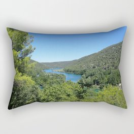 Croatian River Rectangular Pillow