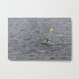 Wind Surfing in Key Biscayne Miami Metal Print
