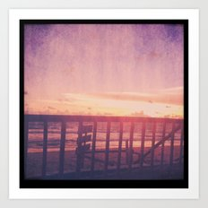 Lanta Sunset Art Print