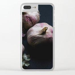 Garlic bulbs Clear iPhone Case