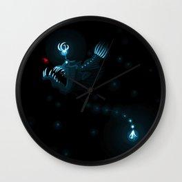 Devil of the Deep Wall Clock