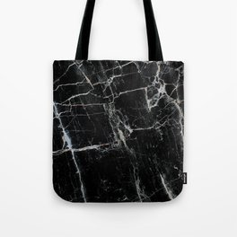 Black Marble Edition 1 Tote Bag