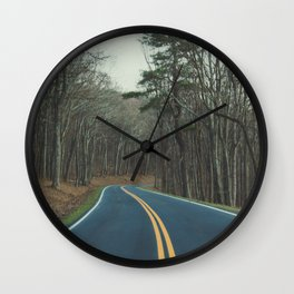 Road to finding yourself Wall Clock