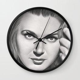 Play it like Bergman Wall Clock